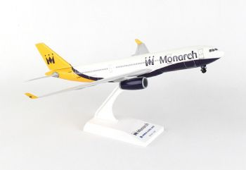 Airbus A330-200 Monarch Airlines Resin Skymarks Model 1:200 SKR838 G-SMAN E